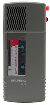 Grundig Sh10 Stenocassette Dictation Machine