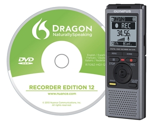 Olympus Vn 731 Pc Dns 2gb Digital Voice Recorder With Dragon