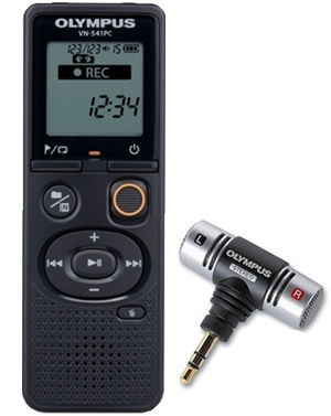 Olympus Vn 541pc 4gb Digital Voice Recorder With Micro Usb