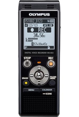 Olympus Ws 853 Digital Voice Recorder Black 8gb Inc