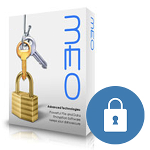 Encryption software MEO for Mac and Windows
