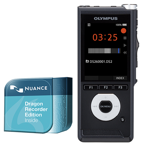 Olympus DS-2600 Dragon Recorder Edition Speech Recognition Kit SpeechShop.co.uk