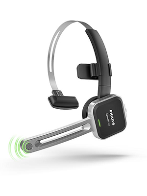 8148b5117ff Philips PSM6000 SpeechOne Wireless Headset for Speech Recognition in ...