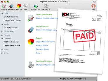 Express Invoice Invoicing Software - How to track invoices