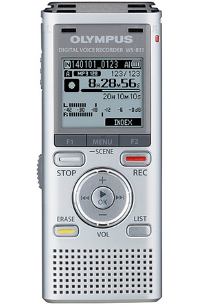 Olympus Ws 831 2gb Digital Voice Recorder